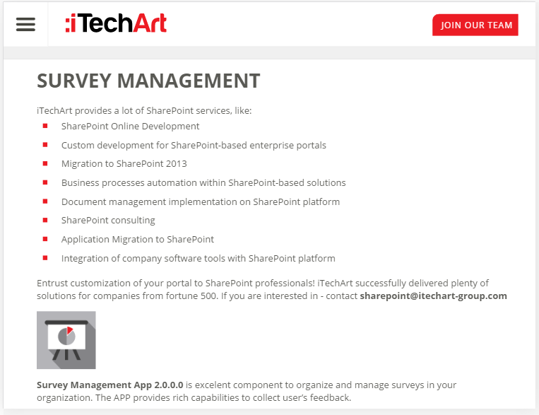 Best SharePoint survey and quiz software Collab365 Directory