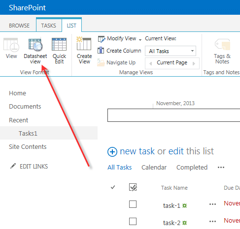 Datasheet View for SharePoint 2013/2016 by KWizCom | Collab365