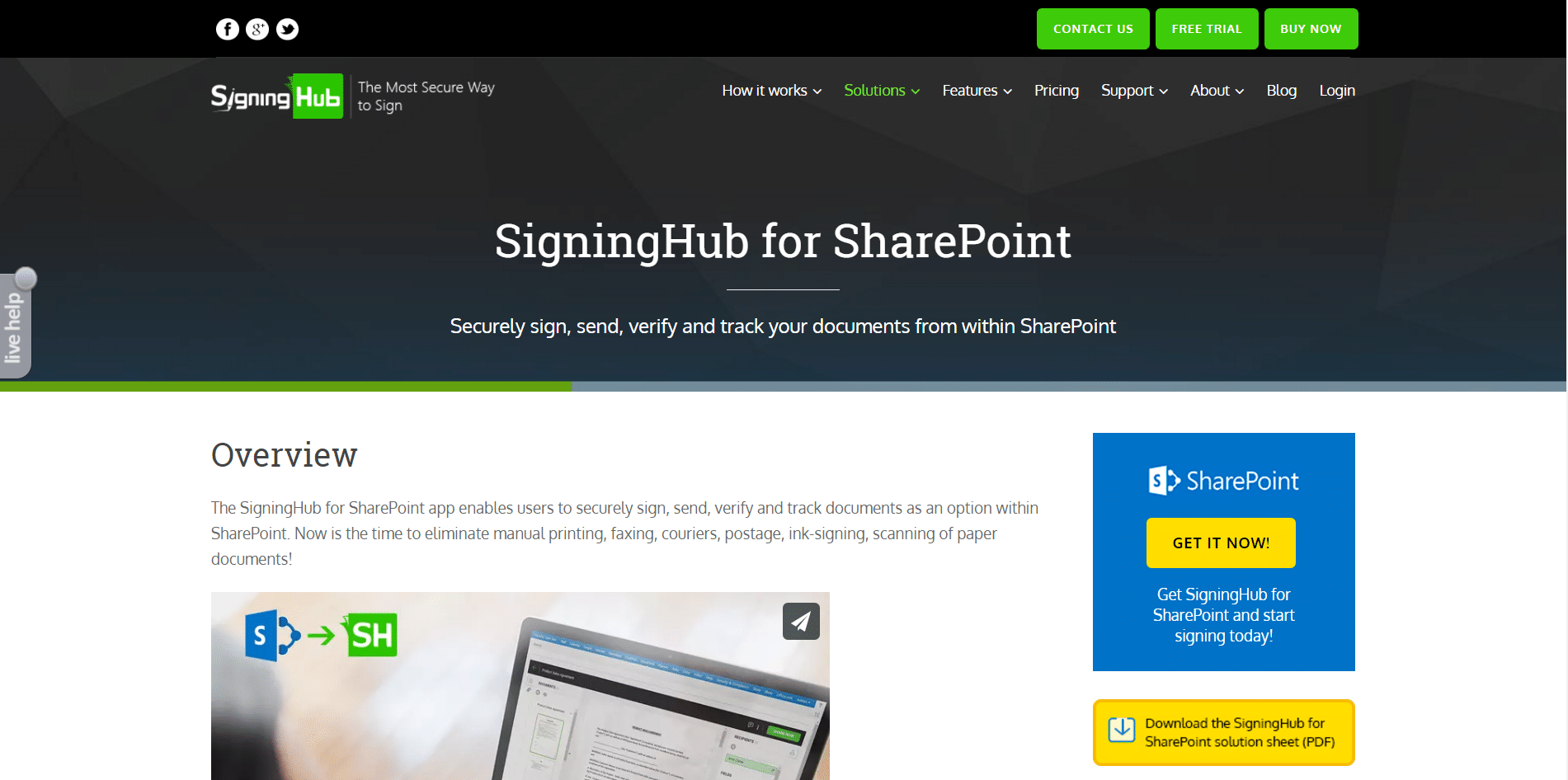 Top SharePoint Digital Signature Software Products | 2017