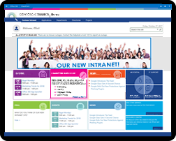 Attractive user friendly sharepoint templates for Intranet portal design templates