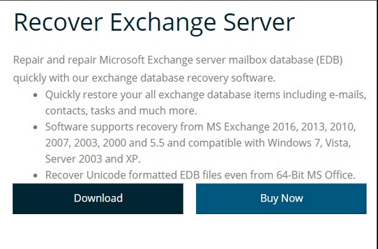 Vartika Exchange EDB Recovery Tool Recovers Mailboxes from